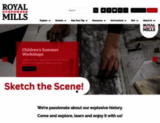 royalgunpowdermills.com screenshot