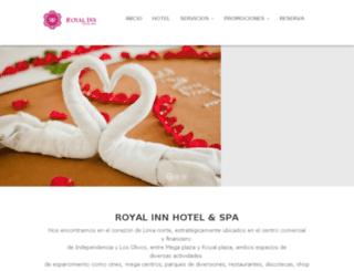royalinnhotelspa.com screenshot