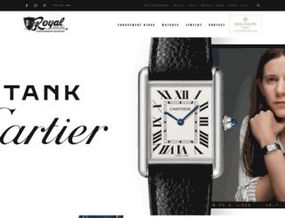 royaljewelersfargo.com screenshot