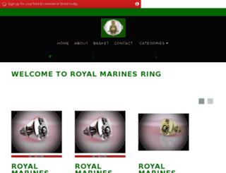 royalmarinesring.com screenshot
