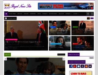 royalnewssite.blogspot.com screenshot