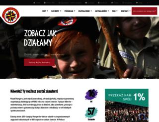 royalrangers.pl screenshot