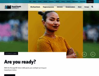 royalroads.ca screenshot