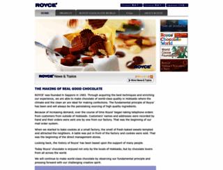 royce.com screenshot