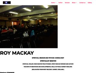 roymackay.co.uk screenshot