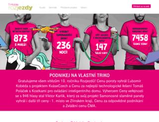 rozjezdy.cz screenshot