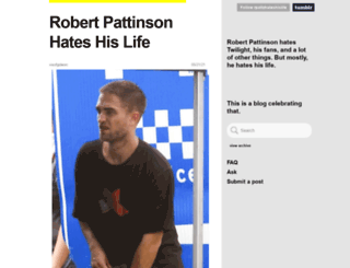 rpattzhateshislife.tumblr.com screenshot