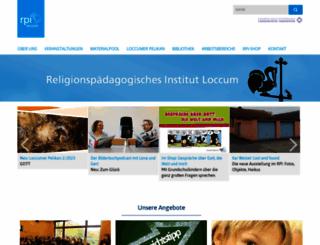 rpi-loccum.de screenshot
