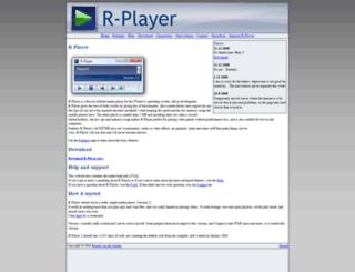 rplayer.nl screenshot