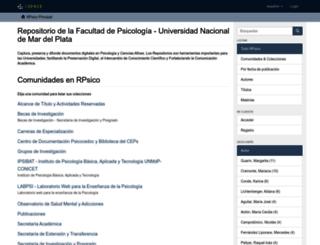 rpsico.mdp.edu.ar screenshot