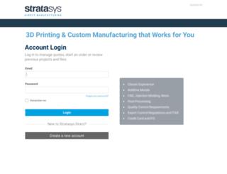 rq.stratasysdirect.com screenshot
