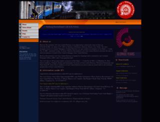 rrcecr.gov.in screenshot