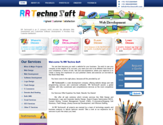 rrtechnosoft.com screenshot