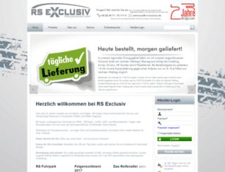 rs-exclusiv.de screenshot