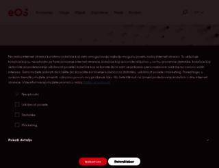 rs.eos-solutions.com screenshot
