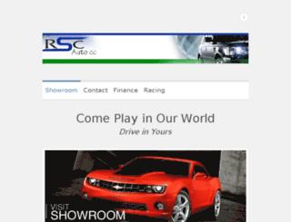 rscauto.co.za screenshot