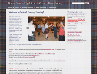rscdsboston.com screenshot