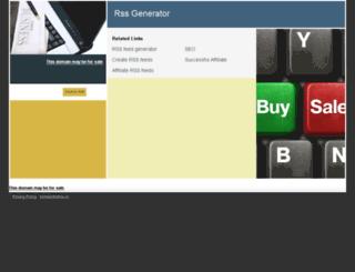 rssgenerator.net screenshot