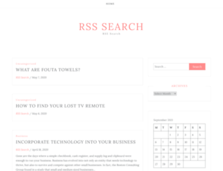 rsssearch.co screenshot