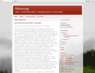 rstrainingshyd.blogspot.in screenshot