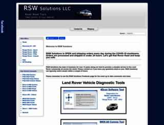 rswsolutions.com screenshot