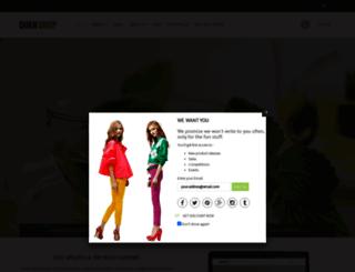 rt-queen2.myshopify.com screenshot