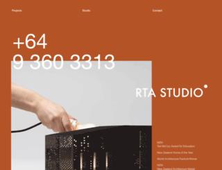 rtastudio.co.nz screenshot