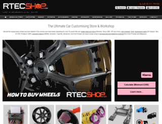 rtecshop.com screenshot