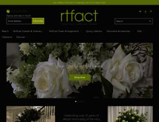 rtfactflowers.co.uk screenshot