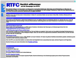 rtfc.de screenshot