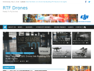 rtfdrones.co.uk screenshot