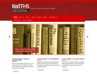 rtfhs.org.uk screenshot
