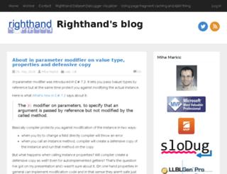 rthand.com screenshot