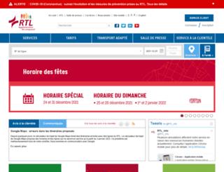 rtl-longueuil.qc.ca screenshot
