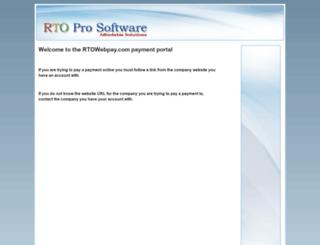 rtowebpay.com screenshot