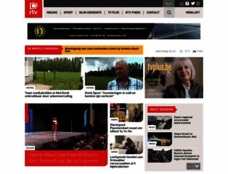 rtv.be screenshot
