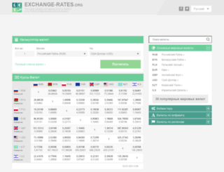 ru.exchange-rates.org screenshot