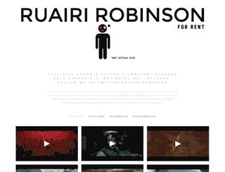 ruairi-robinson.squarespace.com screenshot