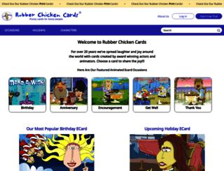 rubberchickencards.com screenshot