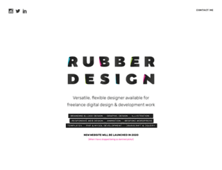 rubberdesign.co.uk screenshot