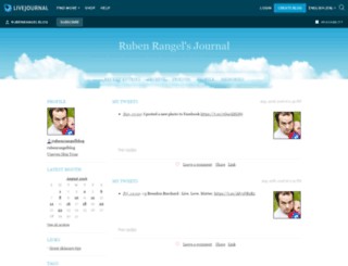 rubenrangelblog.livejournal.com screenshot