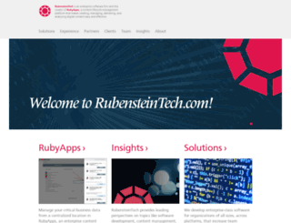 rubensteintech.com screenshot