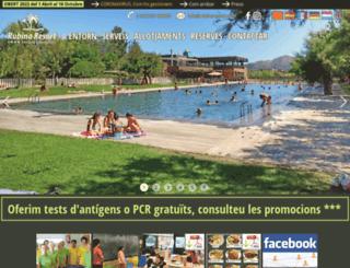 rubinaresort.com screenshot
