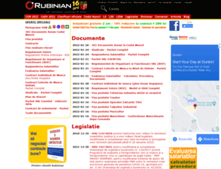 rubinian.com screenshot
