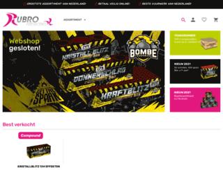 rubro.nl screenshot