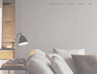 ruby-designliving.de screenshot