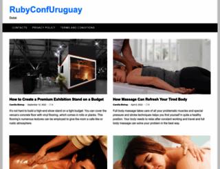 rubyconfuruguay.org screenshot