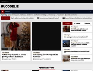 rucodelie.ro screenshot