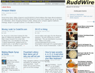 ruddwire.com screenshot