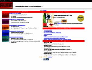 rudeserver.com screenshot